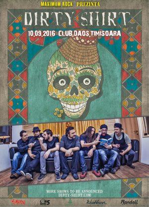 Afis Dirty Shirt Timisoara