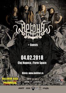 Afis-Arkona-2018 Cluj Napoca