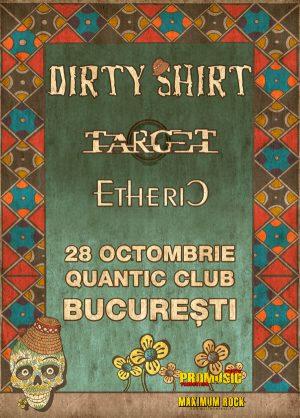 Afis Dirty-Shirt-Bucuresti