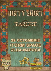 Afis Dirty-Shirt-Cluj