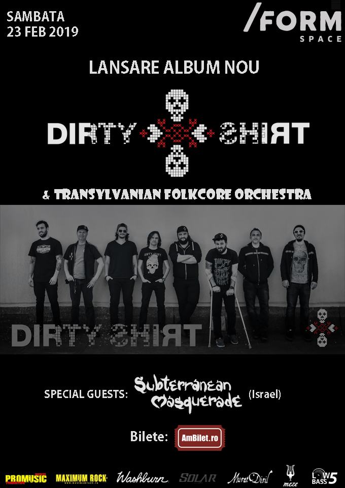 Afis Dirty Shirt 23.02.2019